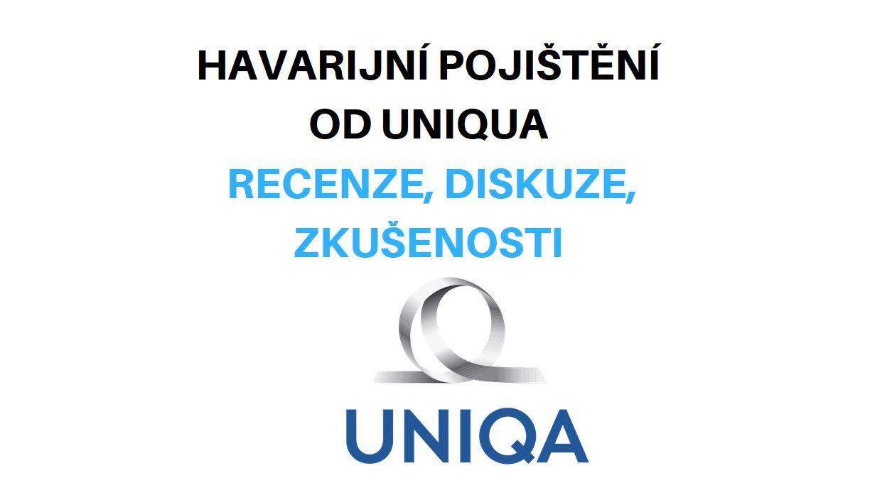 Havarijní pojištění od Uniqua – recenze, diskuze, zkušenosti