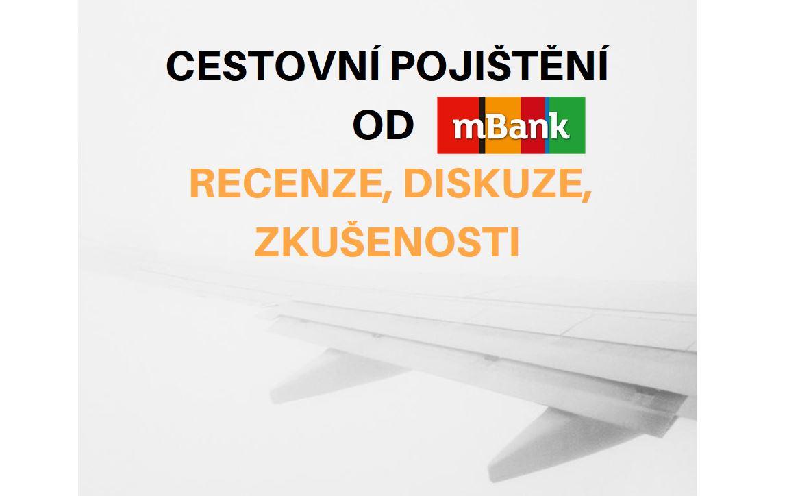 Cestovní pojištění od mBank náhledová obrázek