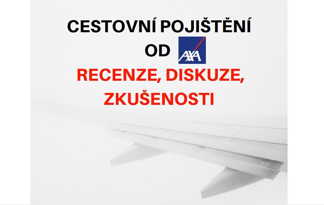Cestovní pojištění od AXA titulní obrázek