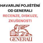Havarijní pojištění od Generali - recenze