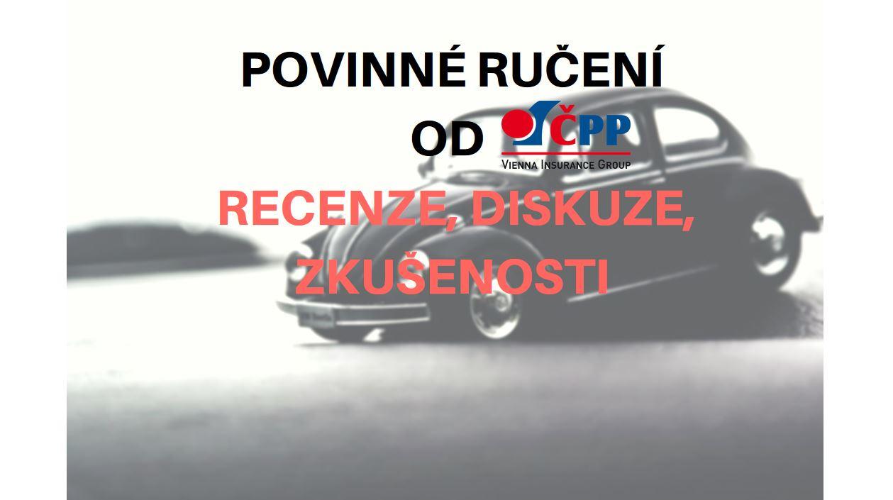 Povinné ručení u České podnikatelské pojišťovny – recenze, diskuze, zkušenosti