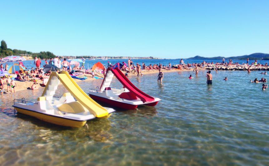 Cestovní pojištění do Chorvatska - pláž
