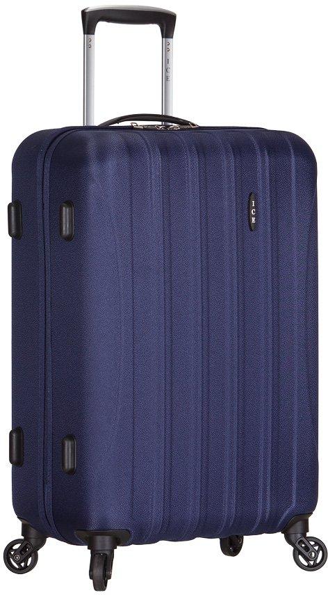 Cestovní kufr na kolečkách AZURE Cestovní kufr Ice M modrá