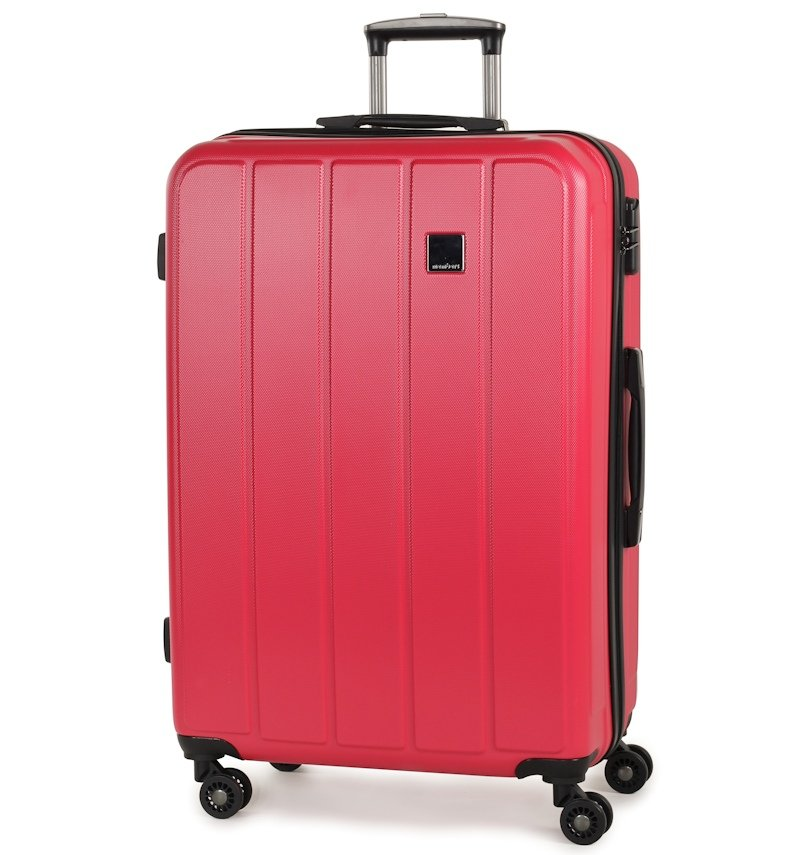 Member's Cestovní kufr TR-0136/4-70 ABS růžová