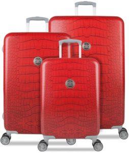 SuitSuit Sada kufrů Red Diamond Crocodile