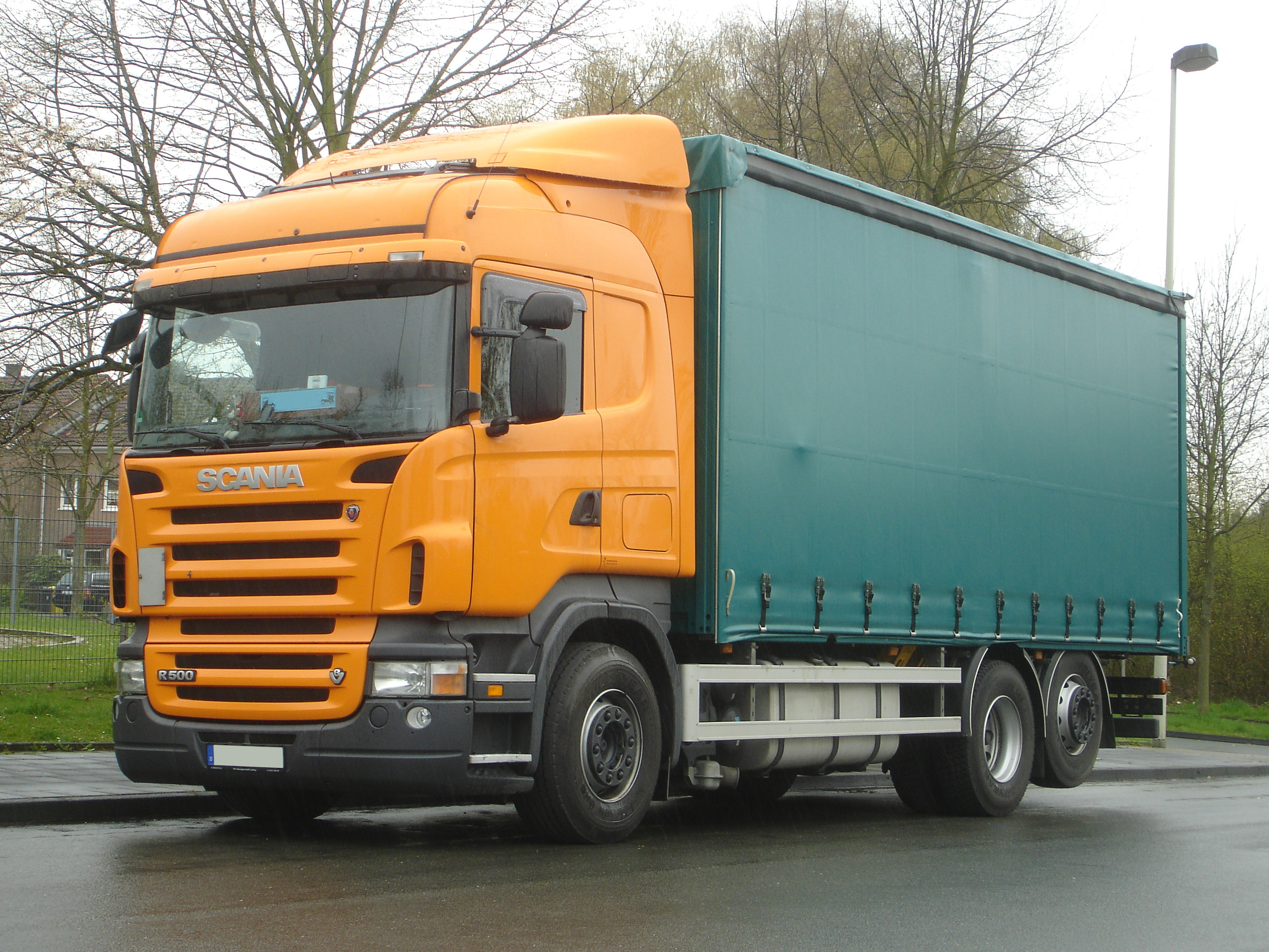 Nejvýhodnější povinné ručení nad 3,5 tuny - Scania