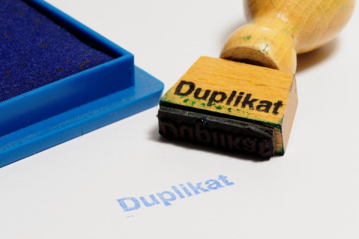 Jak vytvořit duplikát technického průkazu