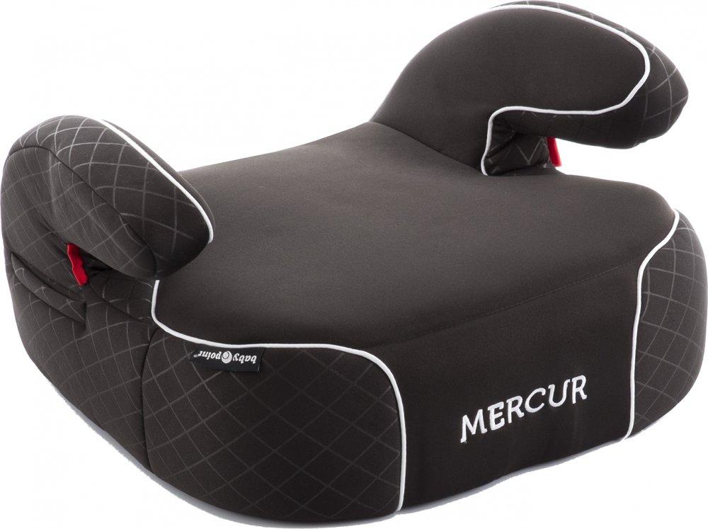 Jak vybrat dětský podsedák do auta - Babypoint Mercur, černá