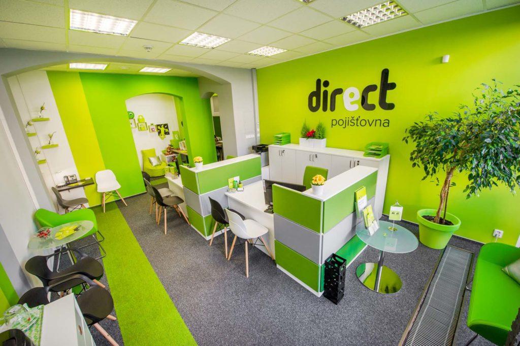 Direct pojišťovna - jedna z poboček