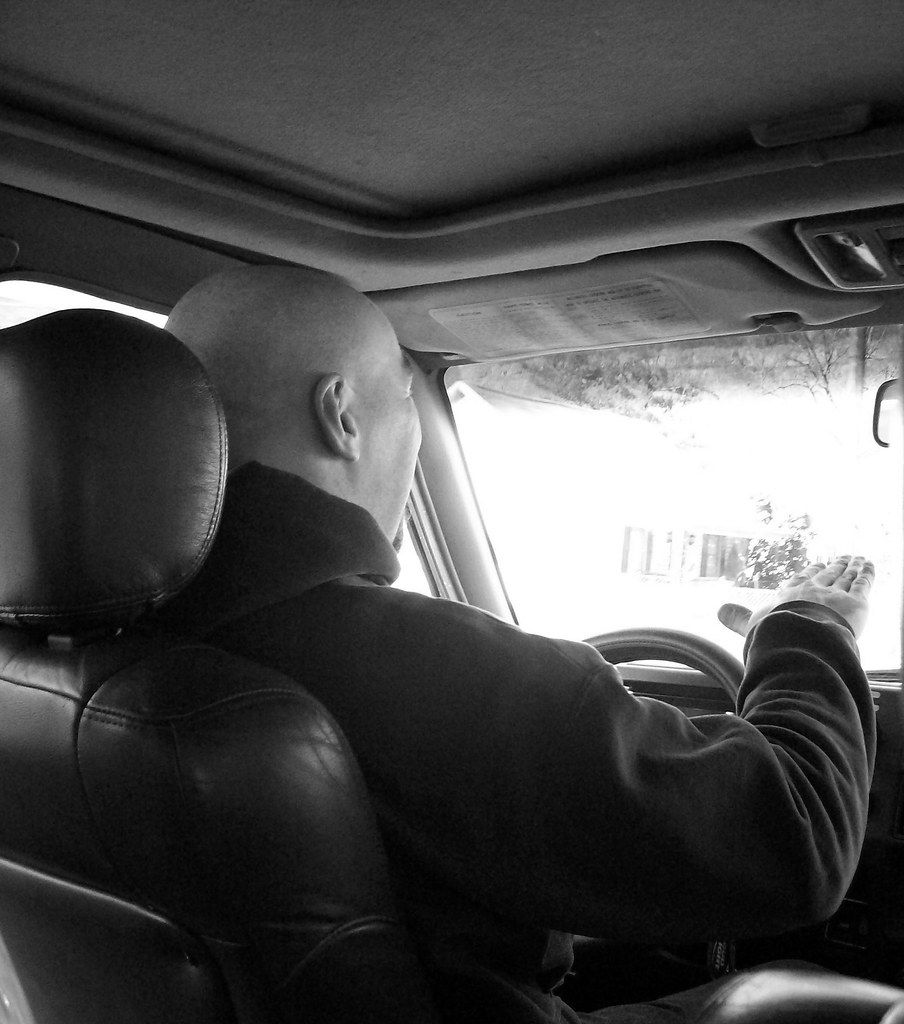 řidič auta
